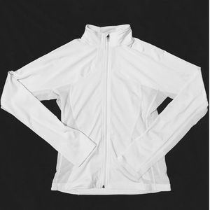 LuluLemon Catch Me Air White Jacket